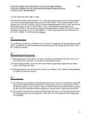 Satzung über die Erhebung von Kostenbeiträgen ... - Stadt Rosenheim