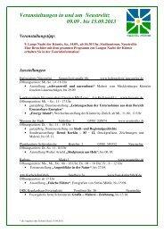 Veranstaltungen_NTZ_9 - Mecklenburgische Seenplatte