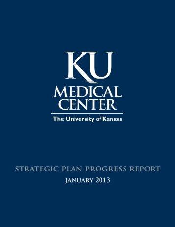 Strategic Plan Progress Report for the KU Medical Center - Bold ...