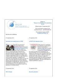 Bulletin du 27 sep. 2012 - ROP