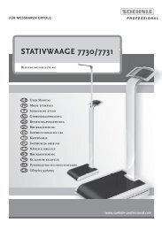 STATIVWAAGE 7730/7731 - Soehnle Professional