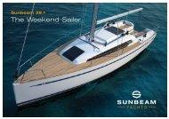 The Weekend Sailer - Sunbeam Schöchl Yachtbau