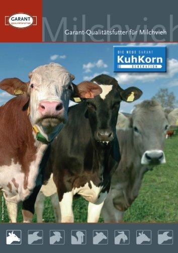 Garant-Qualitätsfutter für Milchvieh - Raiffeisen Lagerhaus Hippach