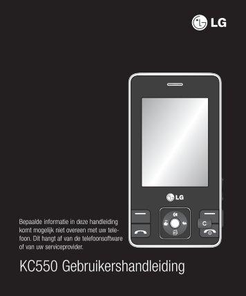 LG KC550 - Gsmweb.nl