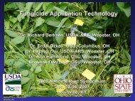 Fungicide Application Technology. - Plant Management Network