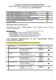 Protokół z posiedzenia Komisji Ogólnopolskiej - Kuratorium Oświaty ...