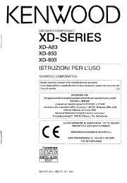 XD-853 - Kenwood
