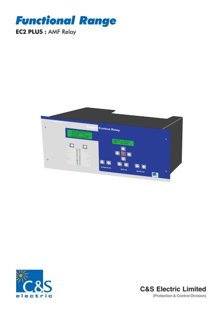 EC2 PLUS pdf - C&S Electric Limited
