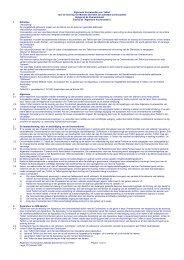 Algemene Voorwaarden Zakelijk abonnement van Telfort Pagina 1 ...
