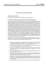 Schriftliche Anfrage - Bündnis 90/Die Grünen Landtagsfraktion ...