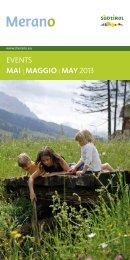 EvEnts mai | maggio | may 2013 - Hotel Bavaria