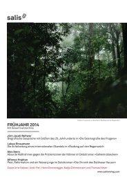 Vorschau Frühjahr 2014 - büro indiebook