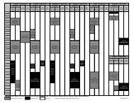 Gym Schedule - Bellevue Club
