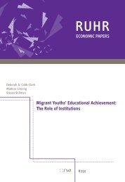 Migrant Youths' Educational Achievement - Rheinisch-Westfälisches ...