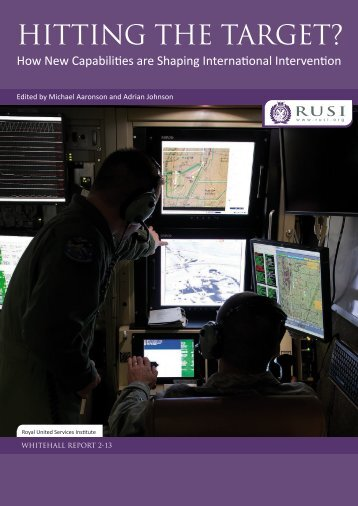 Hitting the Target? How New Capabilities are Shaping ... - RUSI