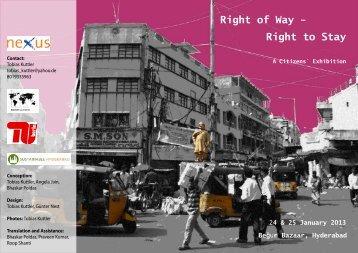 Right to Stay - nexus-Akademie für Partizipative Methoden