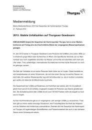 Bilanz 2013 Seepolizei TG