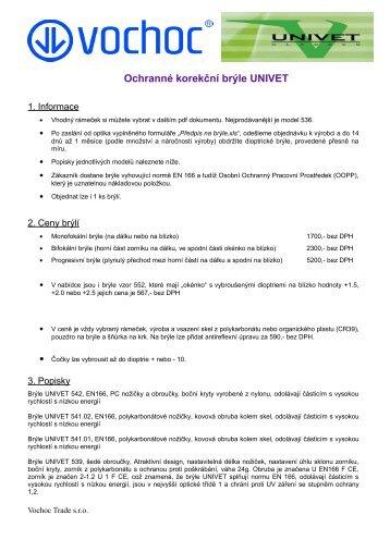 Korekcni bryle UNIVET.pdf - VOCHOC