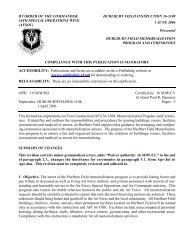 HFI 36-3108 Hurlburt Field Memorialization Program and Ceremonies