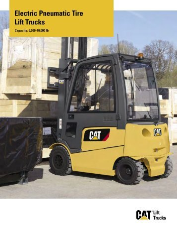 Electric Pneumatic Tire Lift Trucks - Cat Lift Trucks