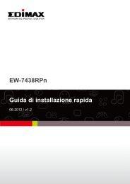 EW-7438RPn Guida di installazione rapida - Edimax