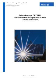 PV-Schutzkonzept OPTIMAL bis 10 kWp_ AO Stand ... - Global Energy