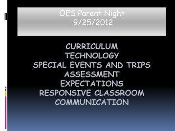 Science Topics for Kindergarten include: - Osceola School District