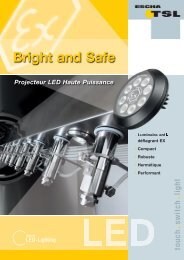 Spot LED Ex haute puissance [.PDF] - Logo ESCHA TSL GmbH