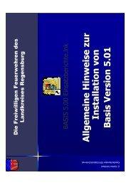 Schulungsunterlagen über die Einweisung in ... - KFV Regensburg