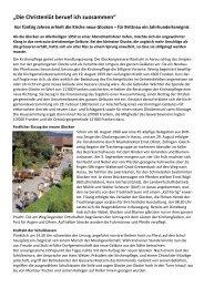 Bildbericht Kurt Buchmüller - Reformierte Kirche Brittnau