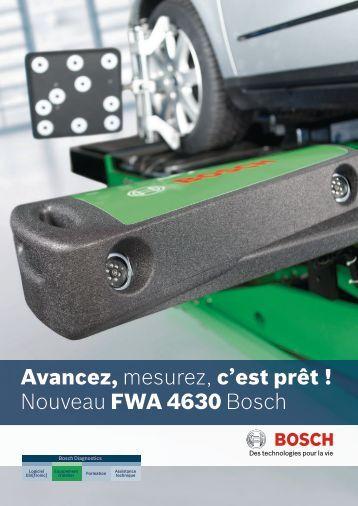 Avancez, mesurez, c'est prêt ! Nouveau FWA 4630 Bosch - kaufmann