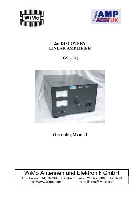 2m DISCOVERY LINEAR AMPLIFIER
