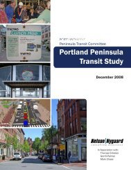 Portland Peninsula Transit Study - City of Portland