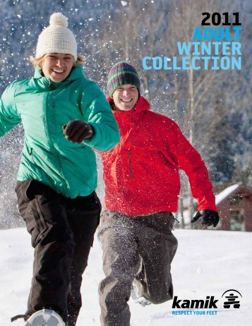 2011 ADULT WINTER COLLECTION - Kamik