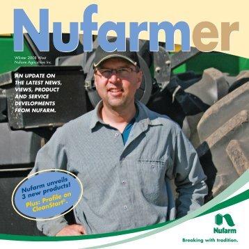 nufarm unveils 3 new products! plus: profile on ... - Nufarm Canada