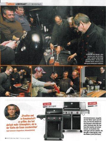 Autobild allrad - Weber - Der Grill. Das Original.