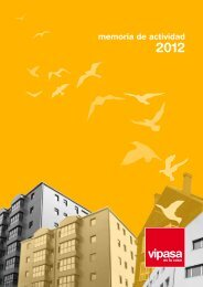 Memoria de actividad 2012 - Vipasa