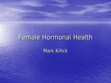 Female Hormonal Health (792 KB ) - Worthing Leisure