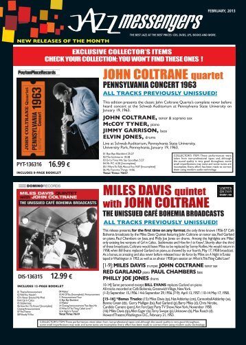 Download february 2013 issue - Jazz Messengers