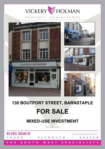 130 boutport street, barnstaple for sale mixed-use ... - Property Pilot