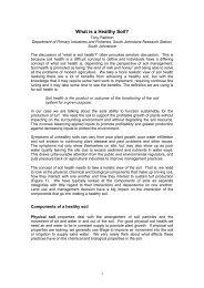 (AU) – What is a Healthy Soil? (PDF)