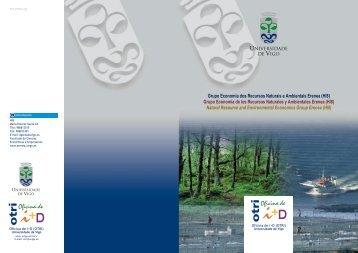Grupo Economía de los Recursos Naturales y Ambientales Erenea