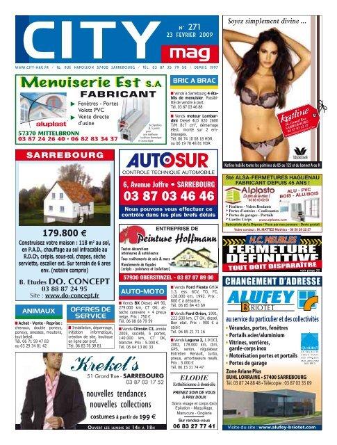 Menuiserie Est S.A - City Mag
