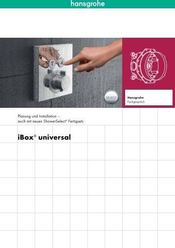 iBox® universal - Hansgrohe