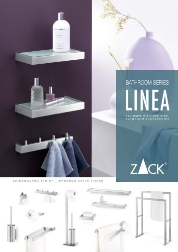 BATHROOM SERIES - Zack – Stainless Steel Accessories