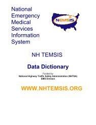 NHTEMSIS Data Dictionary 2005 - NHTSA