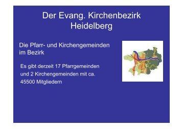 Der Evang. Kirchenbezirk Heidelberg - Ev. Kinder und Jugendwerk ...