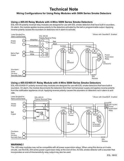 Astounding Interlogix 405 05 Polarity Reversal Relay Module 12 24Vdc Wiring Wiring 101 Tzicihahutechinfo