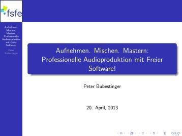 Vortragsfolien (längere Fassung) (application/pdf - 7.8 MB) - Grazer ...