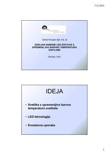 Predavanje v PDF obliki - SDR